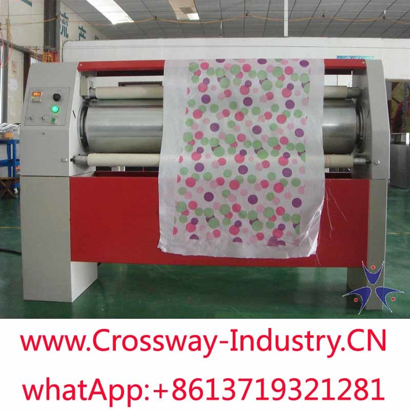 Fabric Cloth Textile Sublimation Heat Transfer Machine Roll by Roll