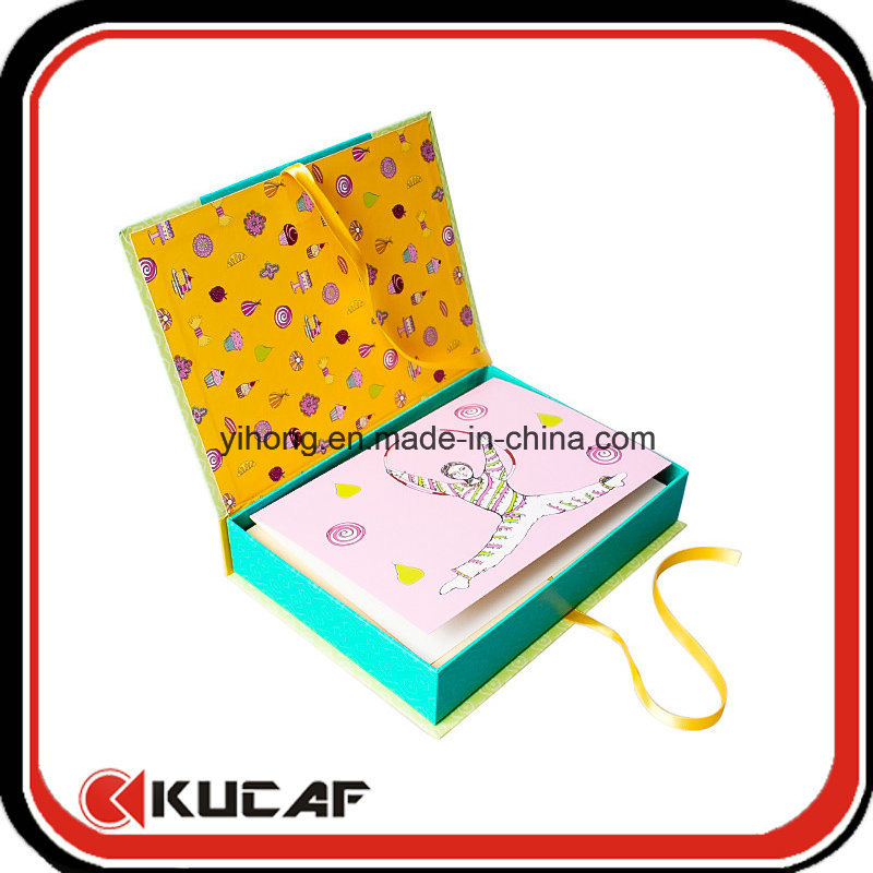 Custom Printing Different Kinds Greeting Cards with Box Packing