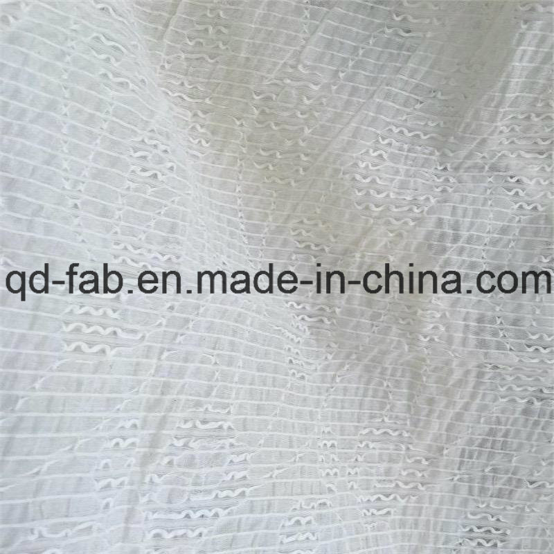71%Cotton26%Nylon3%Spandex Jacquard Fabric Like Lace (QF16-2510)