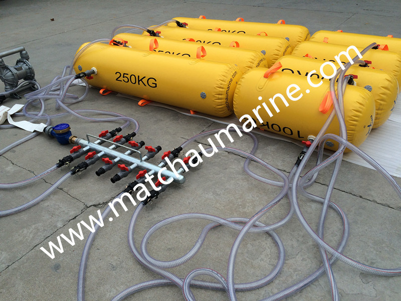 Sausage Load Test Water Bags for Lifeboat