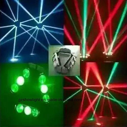 8PCS 3W/10W Mini RGBW 4in1 LED Spider Light
