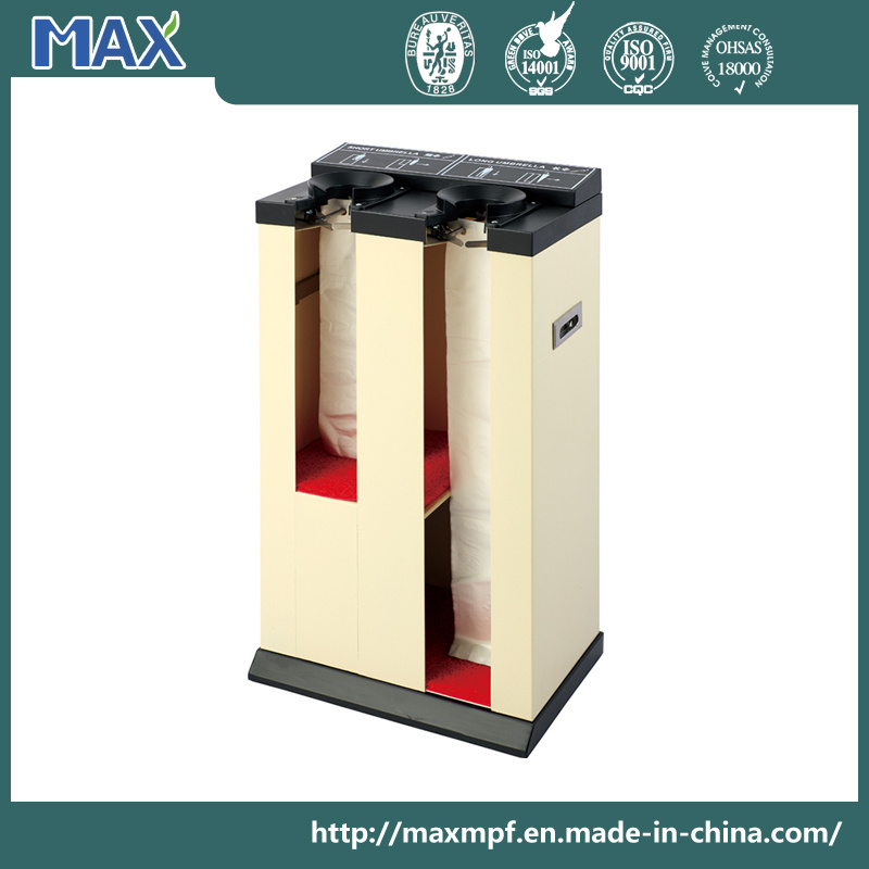 Double Heads Automatic Wet Umbrella Wrapping Machine for Hotel and Supermarket