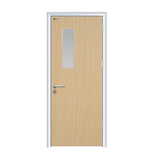 Aluminum Frame Hospital Design Swing Door