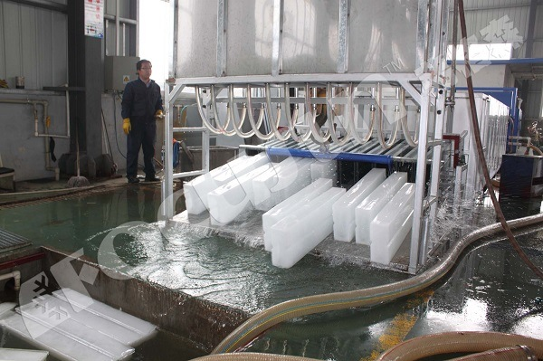 Block Ice Making Machine Using Brine System