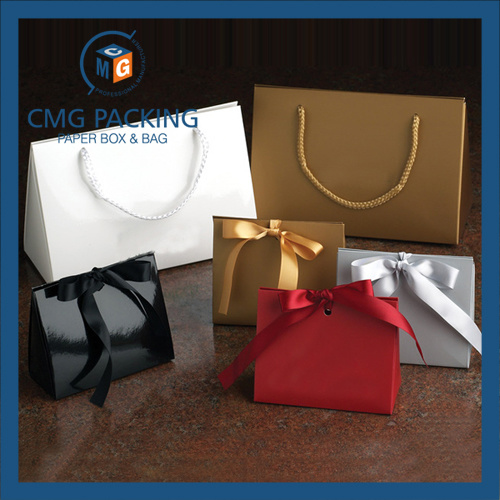No Printing Original Recycled Kraft Paper Packaging Bag (DM-GPBB-176)