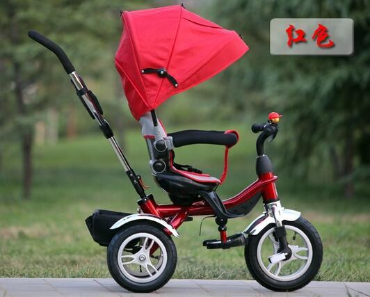 Adjustable Seat Safety Baby Tricycle
