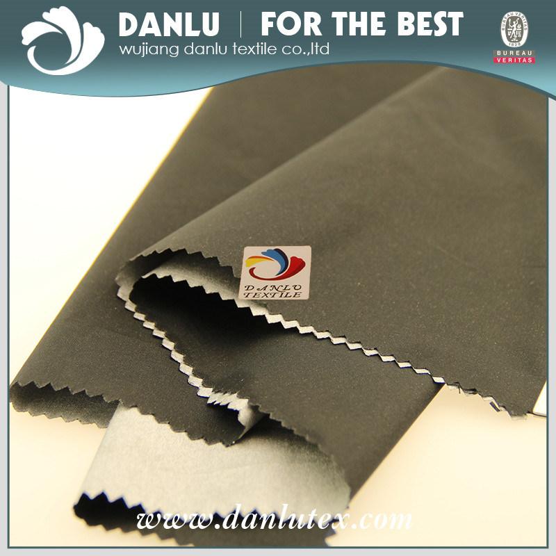 Black Silver Sun Reflective Fabric