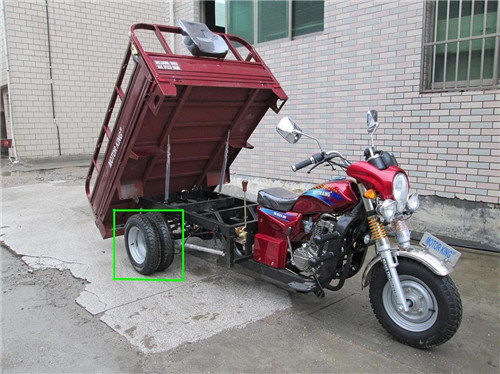 300cc Heavy Trike, Water Cooling Three Wheel Motorcycle, Cargo Tricycle with Five Wheels