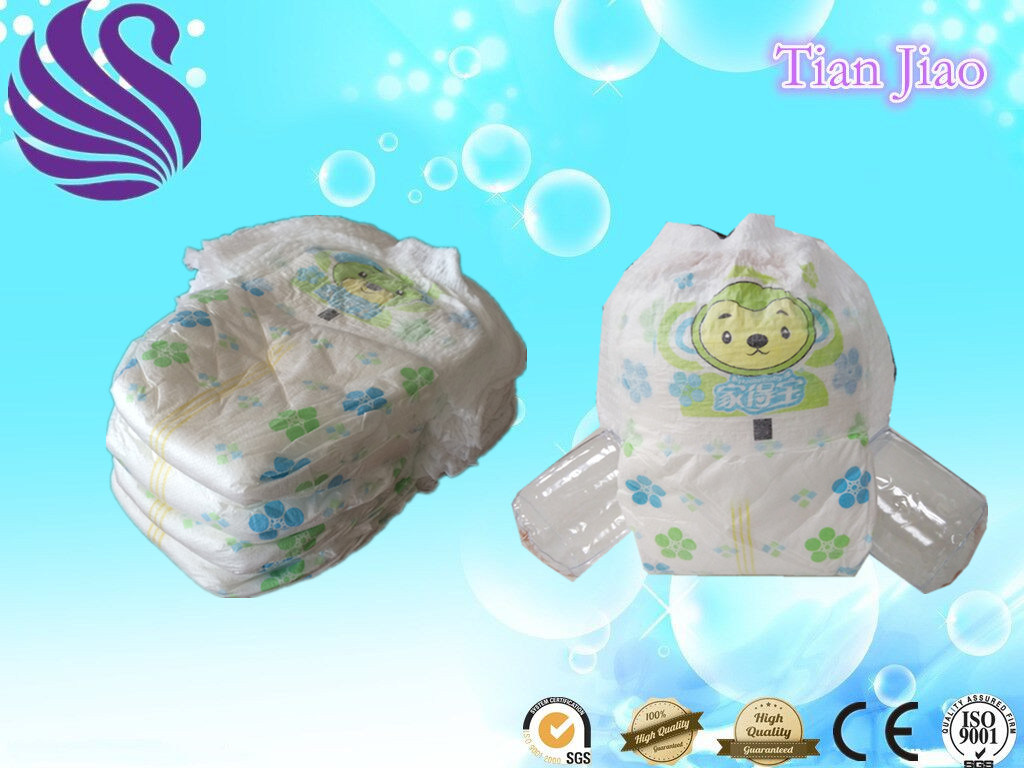 Chinese Economic Disposable Pull up Baby Diapers in Bales Made in China