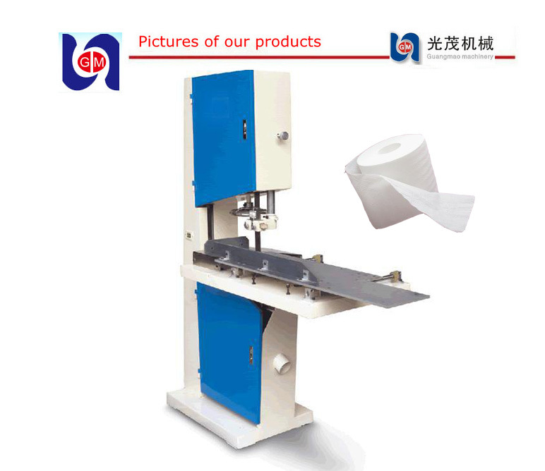 Toilet Tissue Paper Roll Cutter, Small Paper Roll Cutter Machine