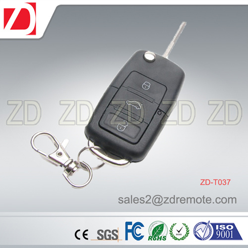 Car Case RF Remote Control for Fixed, Learning, Rolling Code With433/315MHz