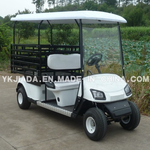 2 Seat Electrical Golf Caddy with Cargo Truck (JD-GE502D)