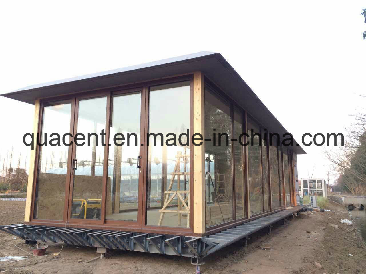 Beautiful Sunny Mobile Prefab House or Show Room