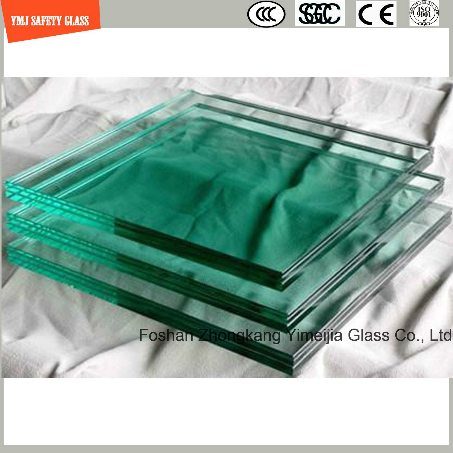 4-19mm Tempered Glass for Green House, Hotel, Construction, Shower