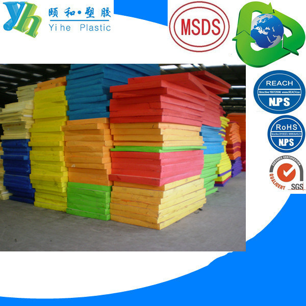 Chemically Crosslinked PE Foam Buns Any Color