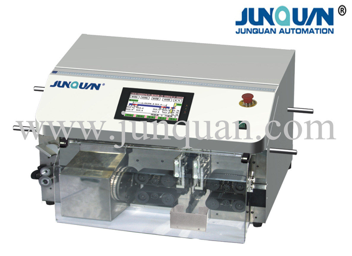 Automatic Coaxial Cable Cutting-Stripping Machine (ZDBX-65A)