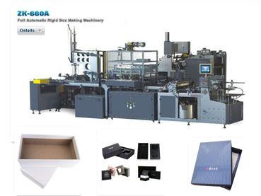 Completely Automatic Rigid Set-Up Box Making Machinery (Packaging Machine ZK 660A)
