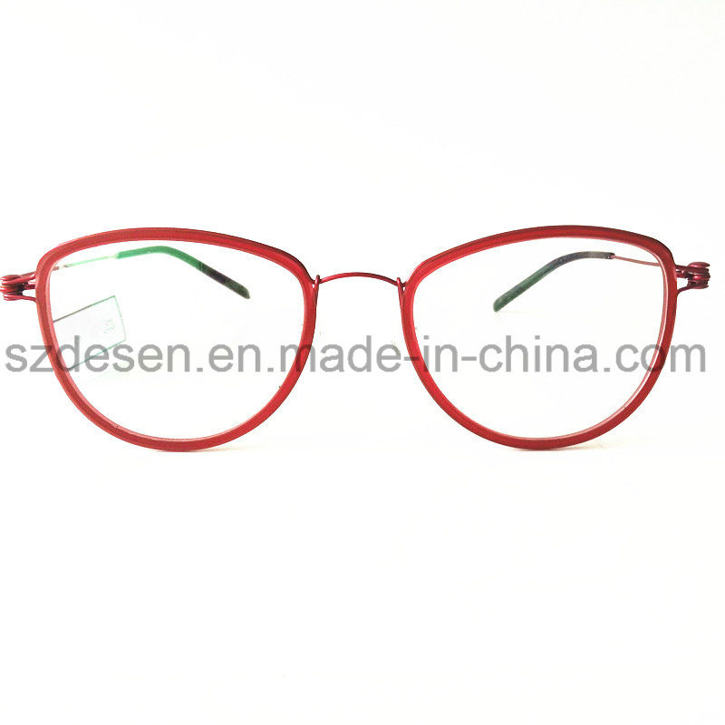 New Design Fashion Trendy Super Light Steel Wire Optical Frame