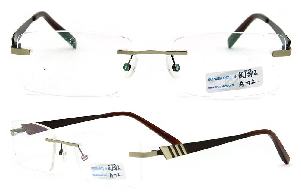 b21411a78d7 Rimless Titanium Frames For Glasses