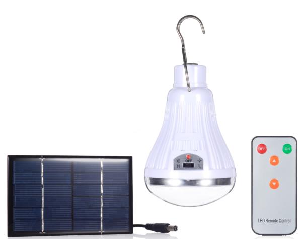 Camping Solar LED Lighting Bulb Light Torch
