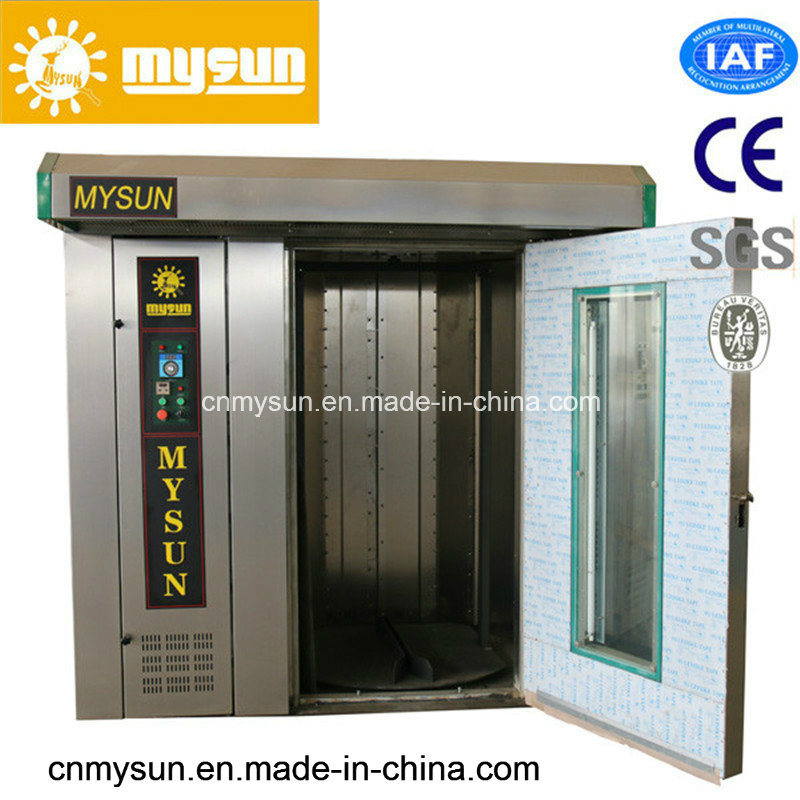 Bakery Equipment Stainless Steel Rotary Rack Oven for Bakery Capacity 200 Kg/H to Hold 64 Trays