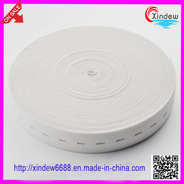 Clothing White Elastic Tape (XDWK-004)