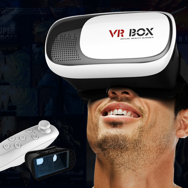 Mobile Phone Vr Box 2 Polarized Virtual Reality 3D Glasses