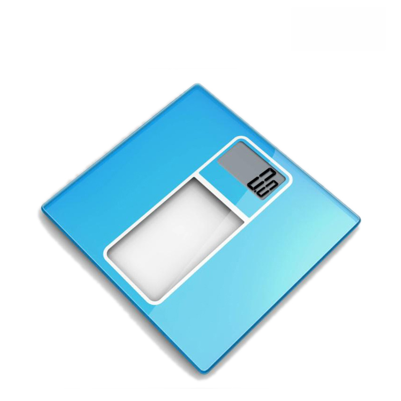 Super Large LCD Display Electronic Weighing Scale with Large Strong Glass Platform