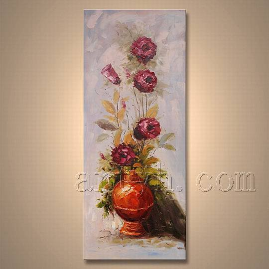 Flower moderne oil painting sur canvas flower moderne oil for Peinture moderne sur toile
