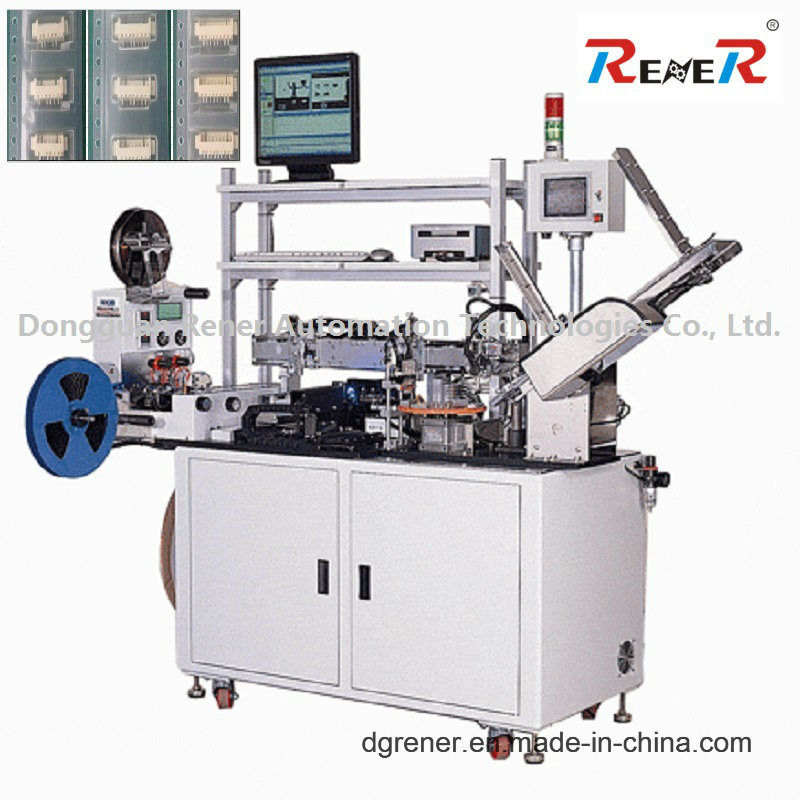 Non-Standard Customized CCD Testing Automatic Packing Machine for Electronic Connector