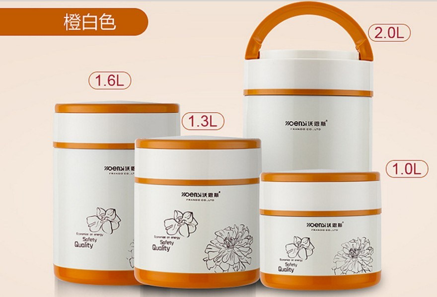 304 Stainless Steel Double Wall Vacuum Pot & Lunchbox (ZN-005)