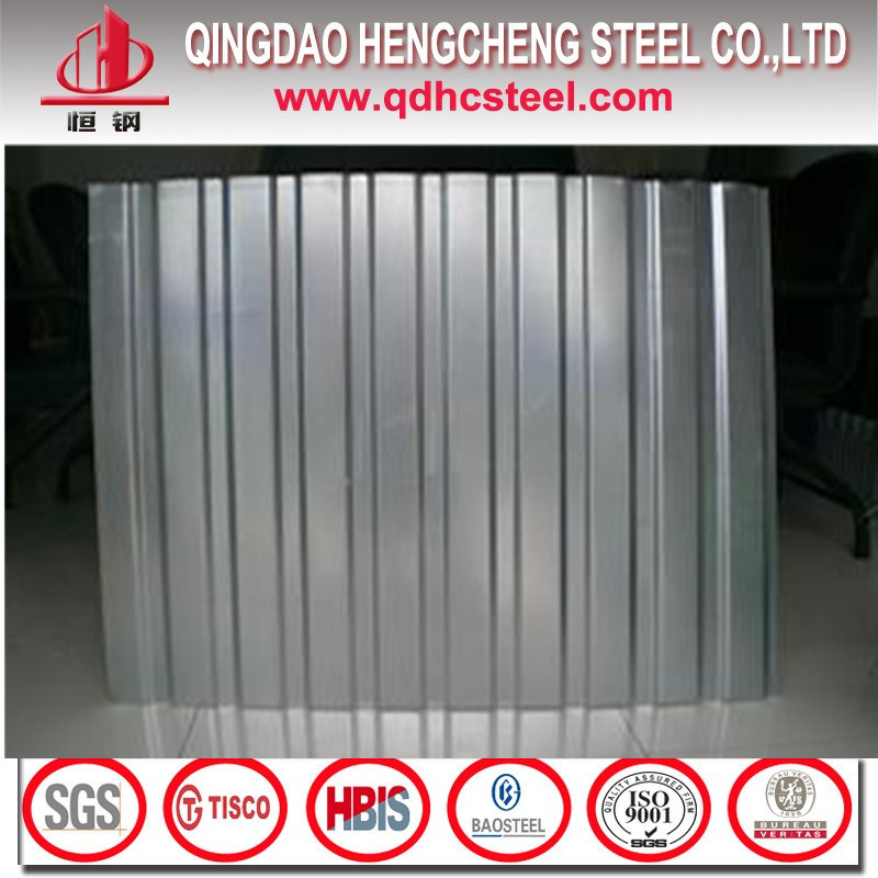 Regular Spangle Zinc Roofing Galvanized Corrugated Iron Sheet
