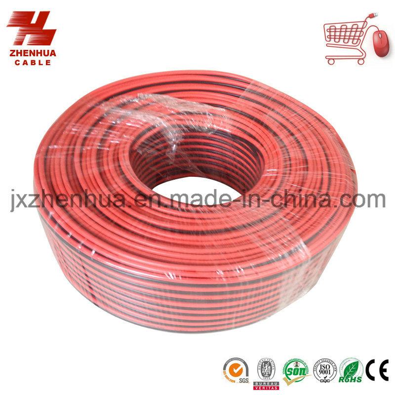 Black/Red PVC Copper Wire Hi-End Audio Speaker Cable Black/Red PVC Copper Wire