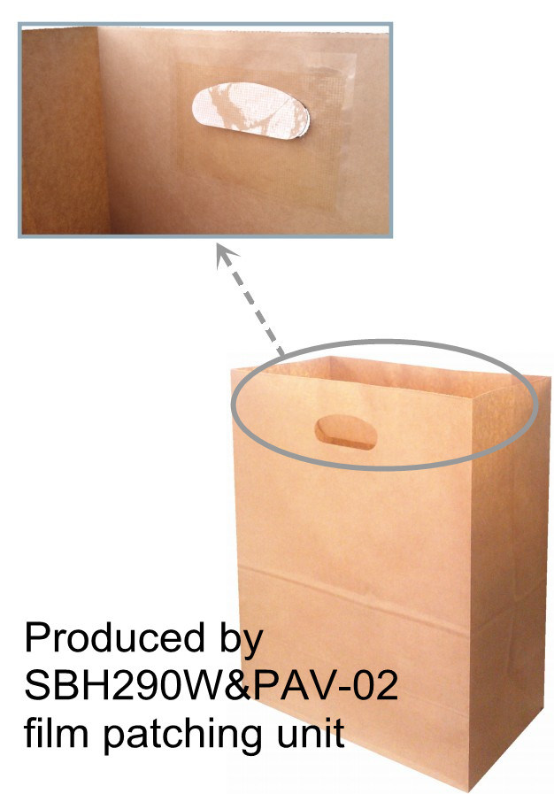 Sbh290W Automatic Block Bottom Paper Bag Machine