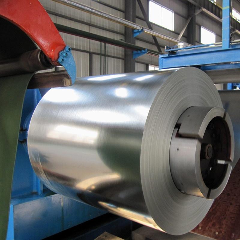 Zinc Coated Gi Galvanized Steel Coil SGS Certification