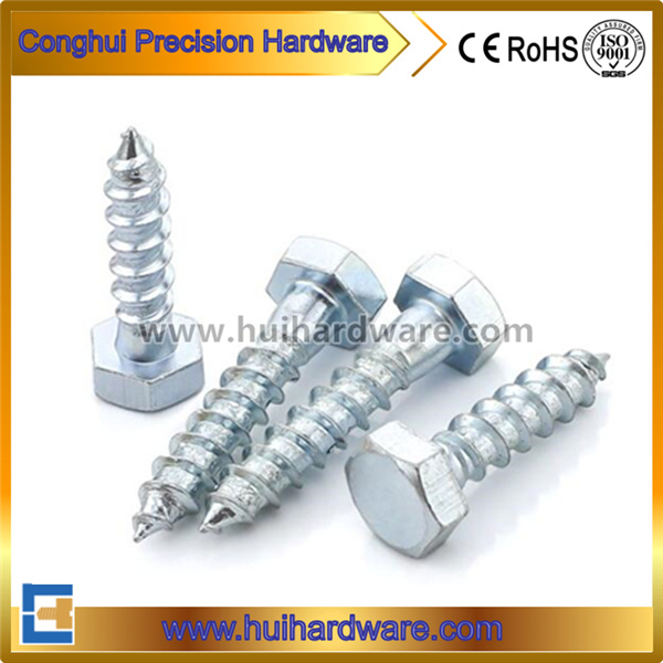 DIN571 Hex Head Lag Screws Hex Wood Screws