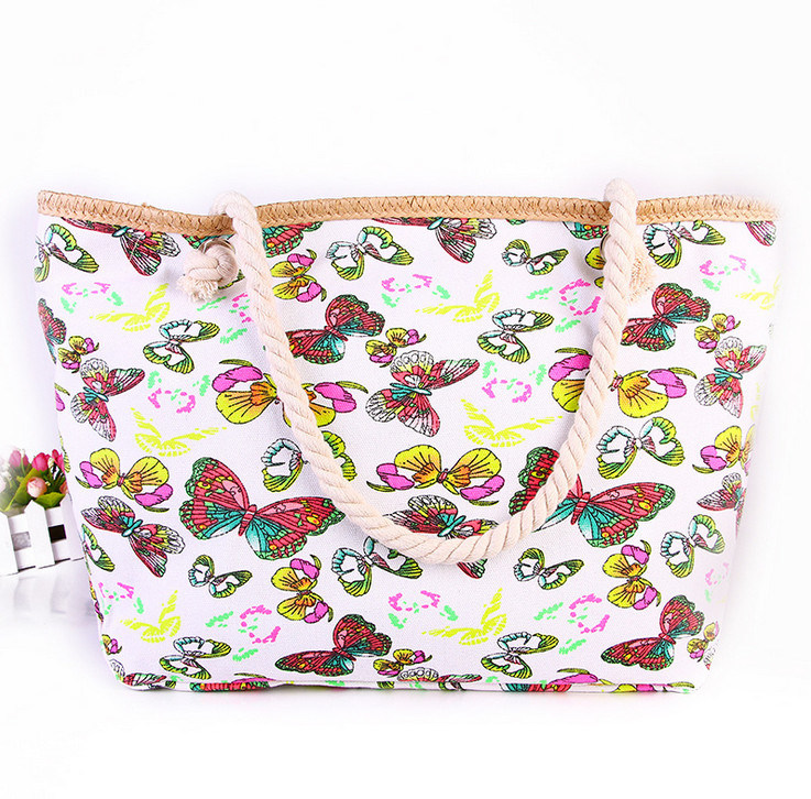 The New Beach Bag Handbags Canvas Shoulder Bag Large - Capacity Handbags Leisure Fashion Cloth Bag