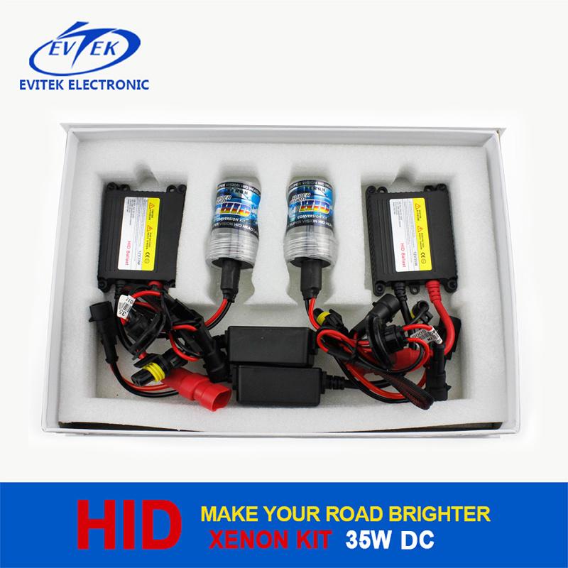 35W HID Lamp HID DC Xenon Conversion Kit with Slim Ballast