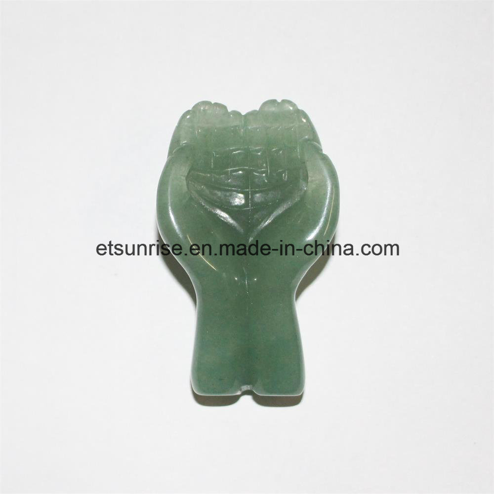 Semi Precious Stone God Hand Carving Craft
