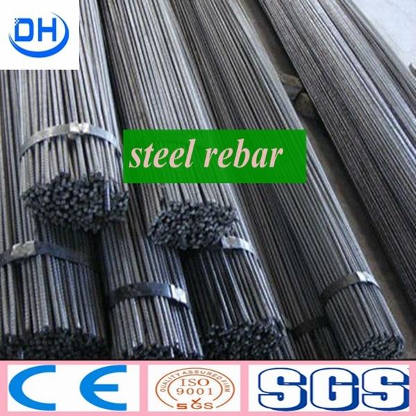 HRB400 HRB500 Reinforcing Steel Rebar in Tangshan China