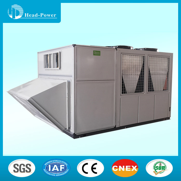 Air Cooled Heat Exchangers Rooftop Unit Central Air Conditioner with Cooling Capacity 52kw