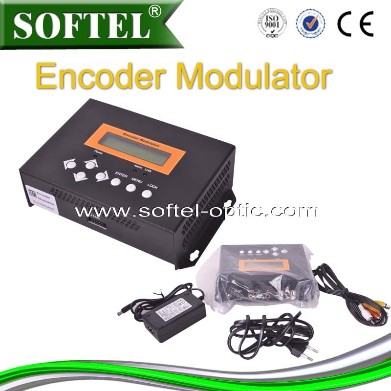 HD/RF/USB Input or Output to DVB-T/C Encoder Modulator