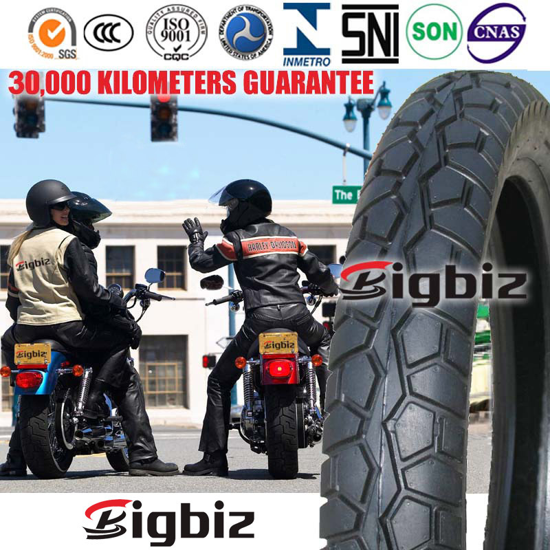 ISO9001: 2008 Top Quality Motorcycle Tire Tubeless