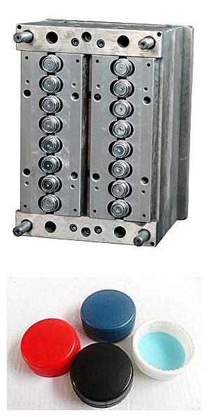 Injection Plastic Cap Mould (FSCM-B2)