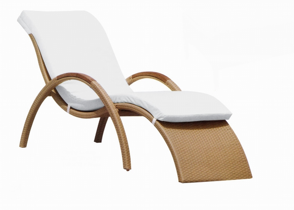 China rattan chaise lounge ko bc20101272 china chaise for Bamboo chaise lounge