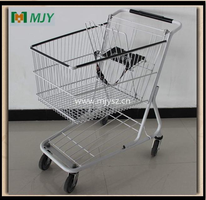 100 Liters American Supermarket Shopping Cart Mjy-100c