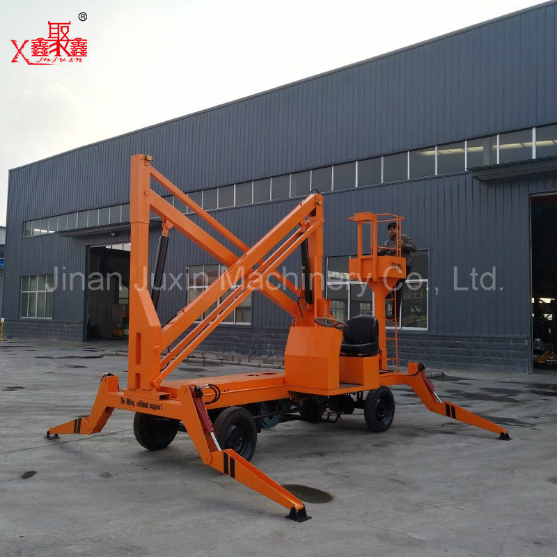 Self-Propelled Mounted Articulated Boom Lift Platform for Maitenance