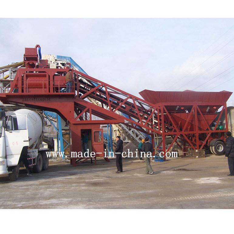 50m3/H Good Quality Automatic Mobile Concrete Mixing Plant / Batching Plant