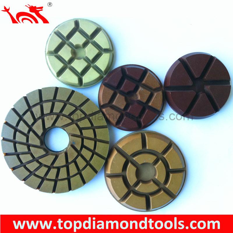 Floor Diamond Polishing Pads for Concrete and Terrazzo