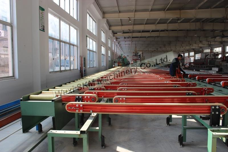 2017 Efficient Aluminium Handling System/ Aluminium Cooling Bed with New Design